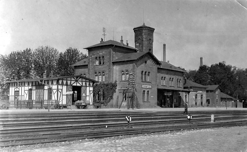 Unser Bahnhof 1914
